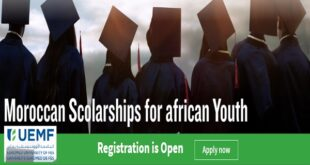 Apply: Moroccan Scholarships for African Youth 2021/22