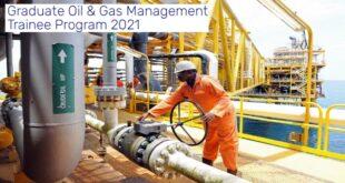 Graduate Oil & Gas Management Trainee Program 2021 for Young Graduates