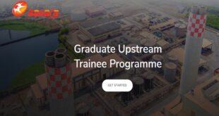 Sahara Group Graduate Upstream Trainee Programme (GUTP) 2021