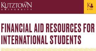 Kutztown University Sesquicentennial Academic Honors Scholarship in USA 2021-2022
