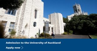 School of Medical Sciences International Masters Scholarship in New Zealand 2021/22