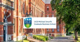 UCD Smurfit Graduate Business School Merit-Based scholarships in Ireland 2021-2022