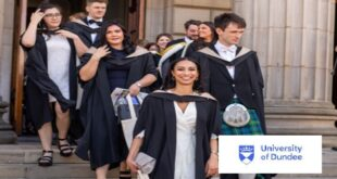 University of Dundee Scholarship for African Students in UK