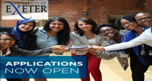 University of Exeter Postgraduate Taught Scholarship